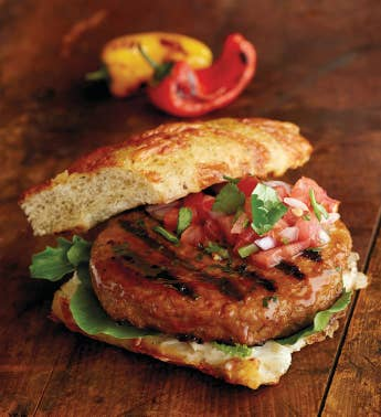 Chipotle Pork Burgers - Twelve 53-Ounce
