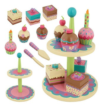 Wooden Toy Sweet Set