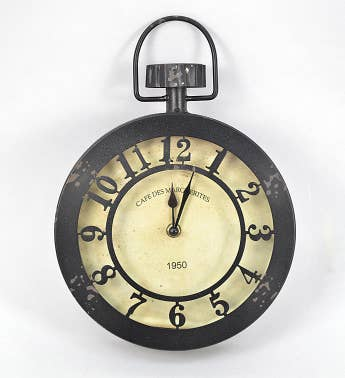 Stopwatch Wall Clock