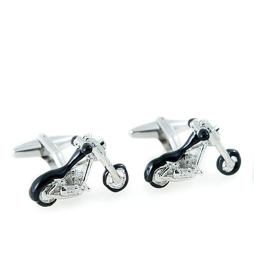 Motorcycle Design Cufflinks