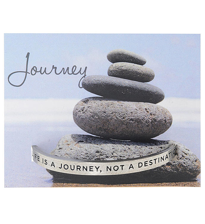 Quotable Cuff - Life Is A Journey