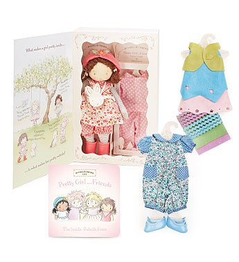 Daisy Girl..Friend Doll and Book Gift Set