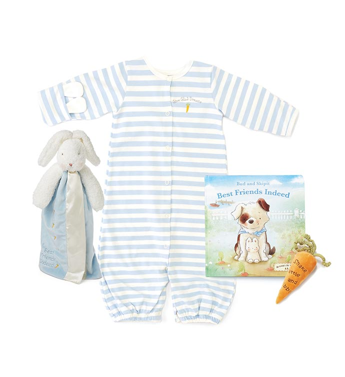 Welcome Baby Boy - Layette Gift Set