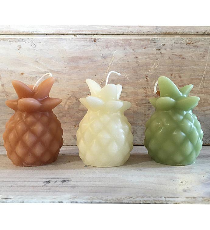 Pineapple Beeswax Candles