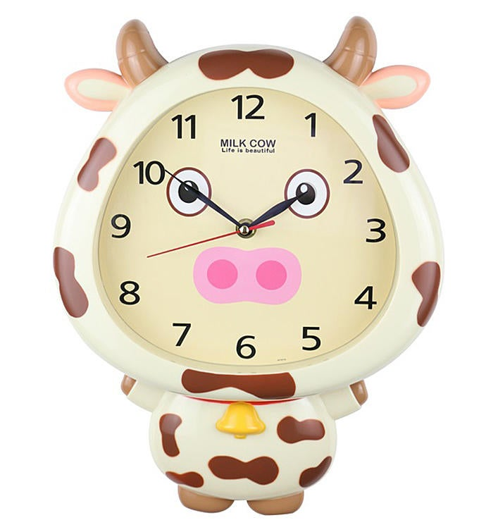 Cow Wall Clock