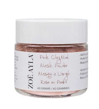 Pink Clay Mud Mask Powder (2oz/60g)