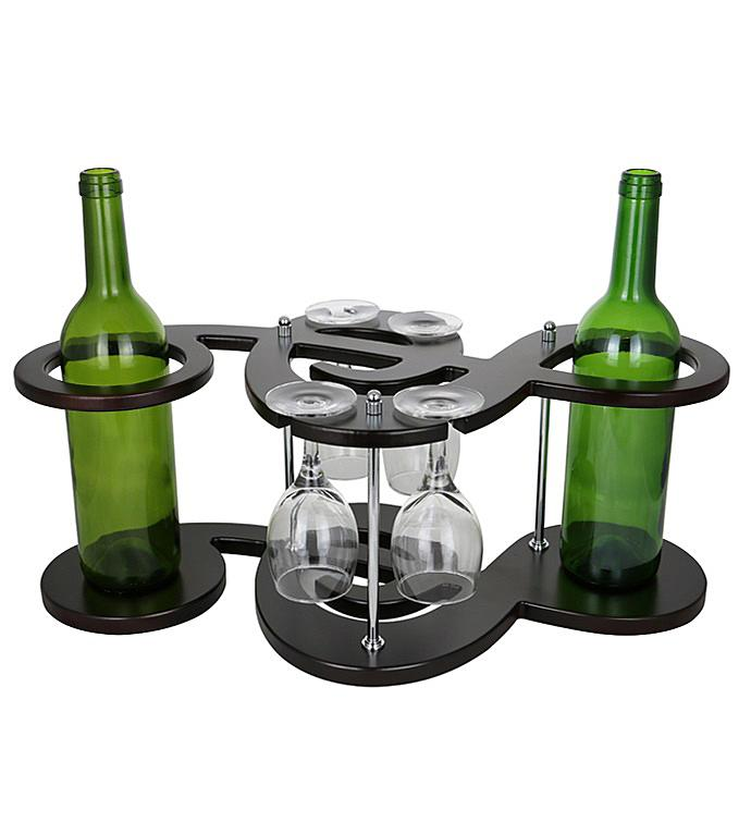 Musical Key Wine Bottle Holder