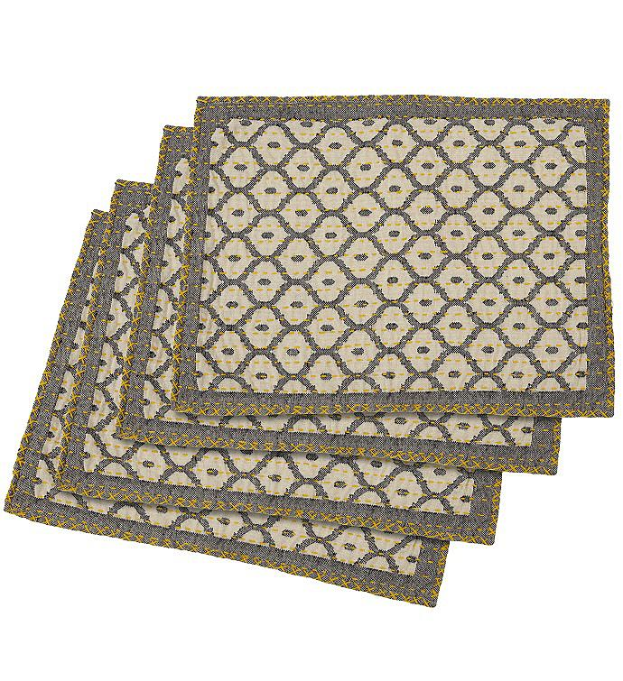 Artisan Hand Loomed Place Mat - Set of 4