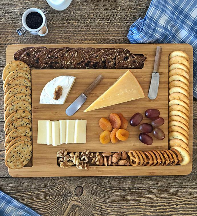 Edge Cheese And Crackers Board