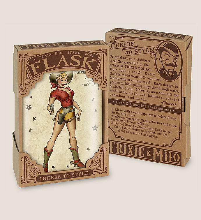 Pin Up Gifts Flask