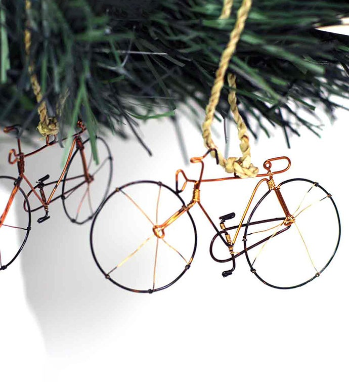 Handmade Bicycle Ornament