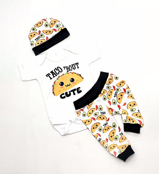 Taco Baby Outfit Newborn