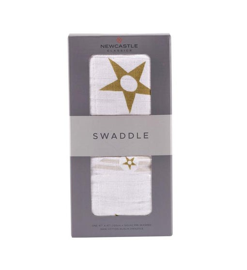Cotton Muslin Swaddle - Patterned