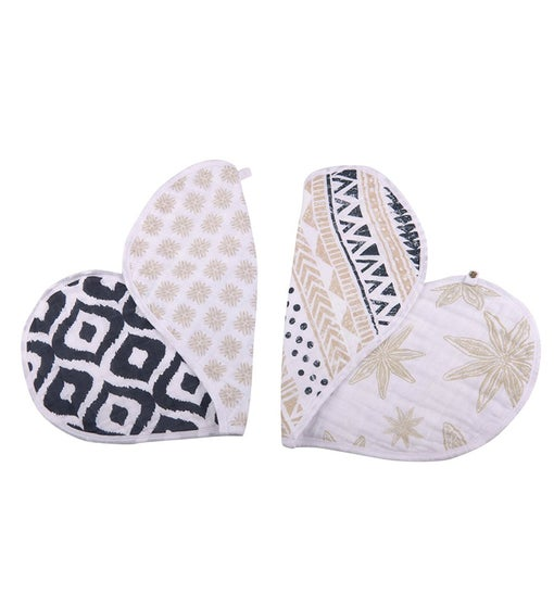 Cotton Heart Bib