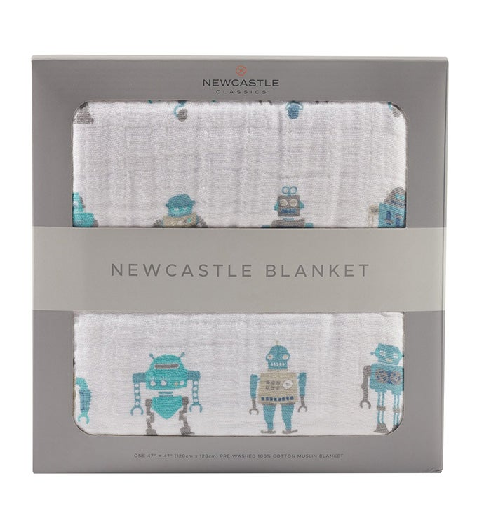 Cotton Muslin Newcastle Blanket