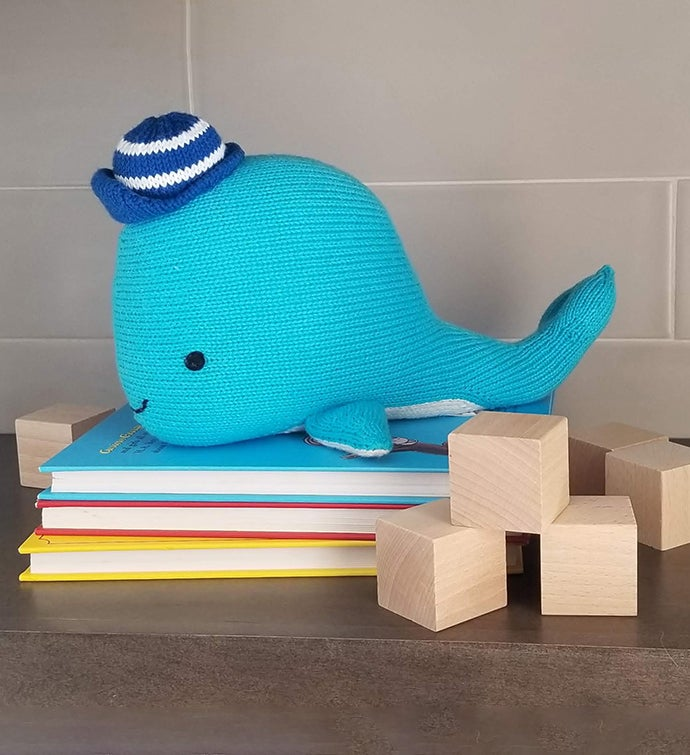 Whale With Cap