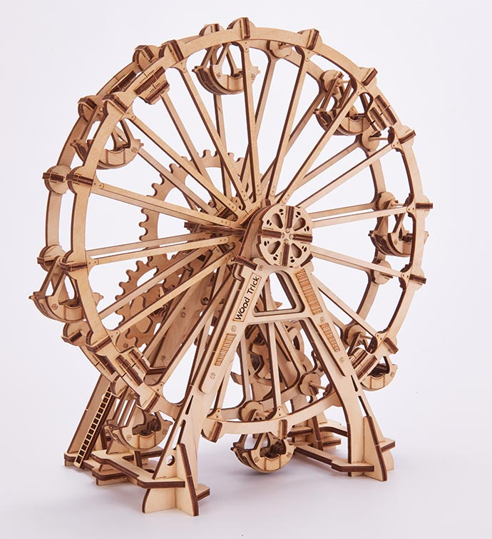 3D Wood Puzzle - Observation Wheel