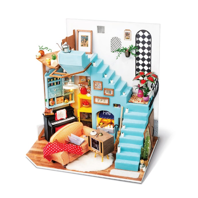 Joy's Livingroom DIY Miniature Dollhouse
