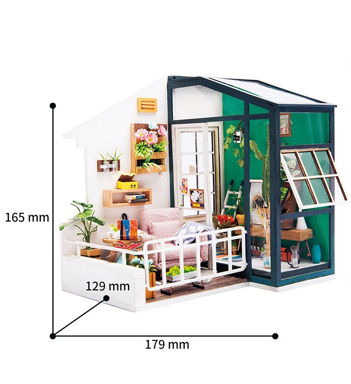 Balcony DIY Miniature Dollhouse