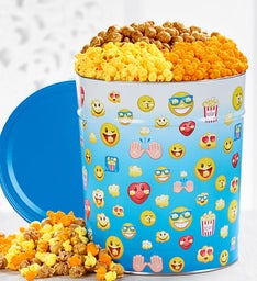 Laugh Out Loud 3-Flavor Popcorn Tin