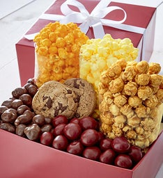 Simply Red Snack Gift Box