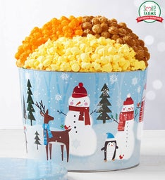 Snow Day 2 Gallon 3-Flavor Popcorn Tin