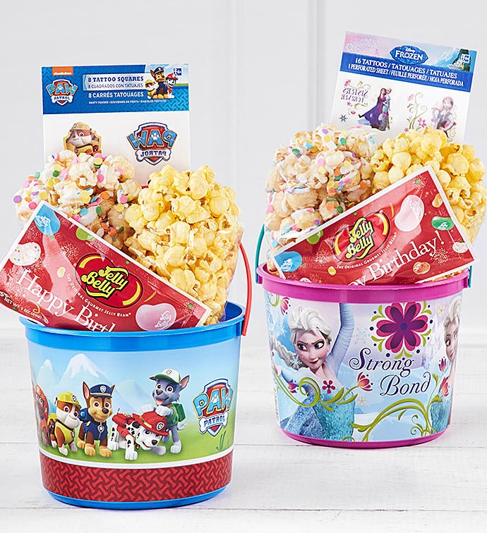 New Disney Frozen or Paw Patrol Buckets