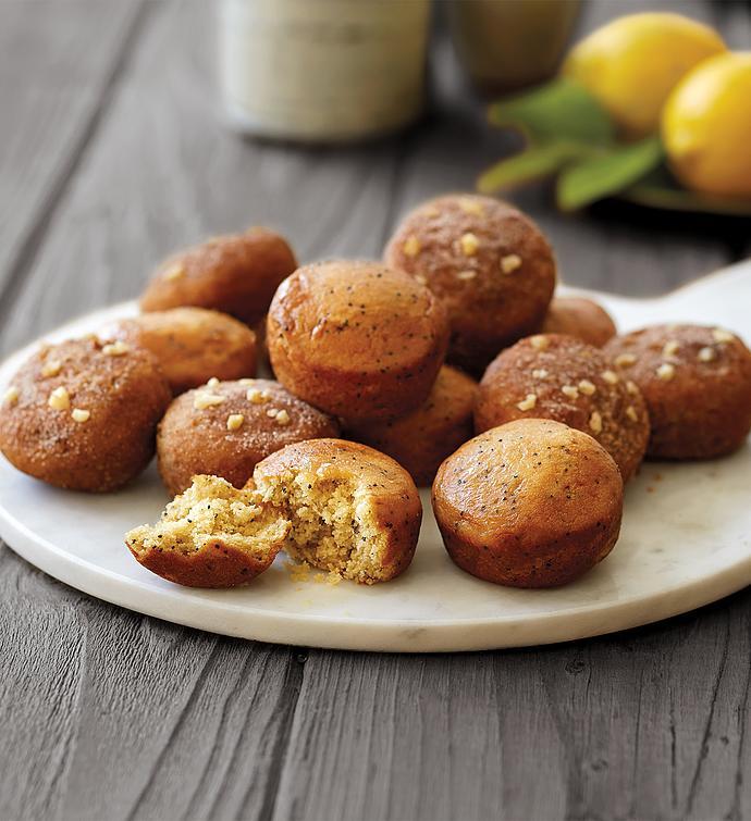 GlutenFree Lemon Poppyseed and Cinnamon Streusel Muffin Duo