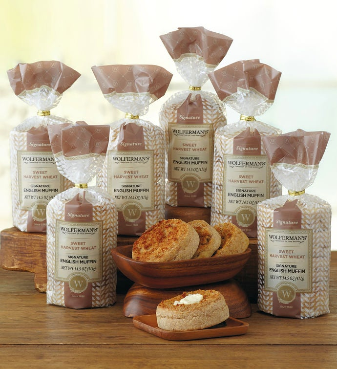 Sweet Harvest Wheat SuperThick English Muffins   Packages