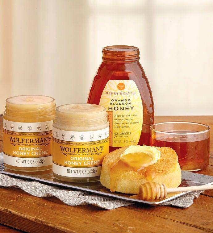 Mix  Match Honey and Honey Crme   Jars