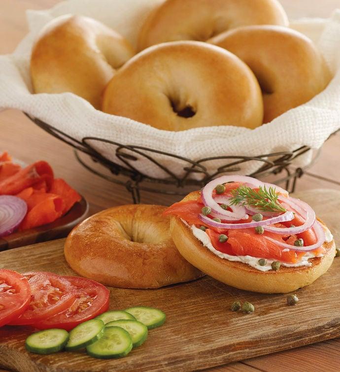 Davidovich Bakery New York Plain Bagels