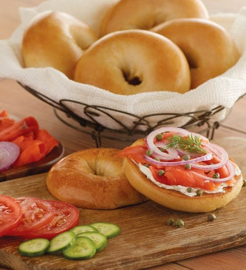 Davidovich Bakery New York Plain Bagels