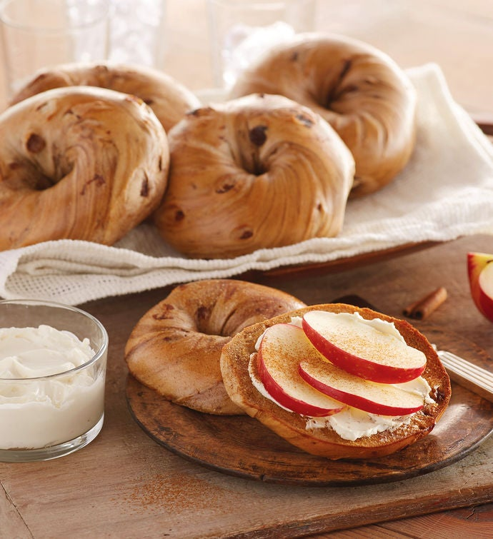 Davidovich Bakery New York Cinnamon Raisin Bagels
