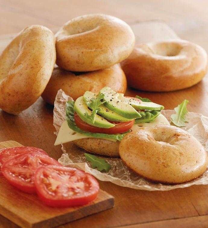 Davidovich Bakery New York Whole Wheat Bagels