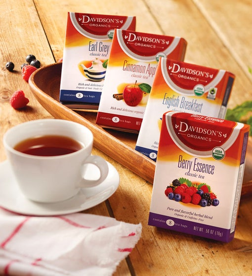 Tea Sampler – 4 Packages
