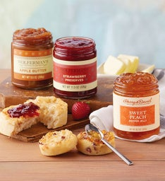 Mix & Match Preserves and Fruit Butters - 3 Jars