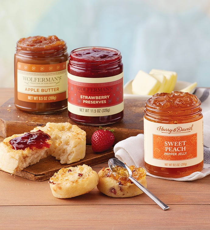 Mix  Match Preserves and Fruit Butters   Jars