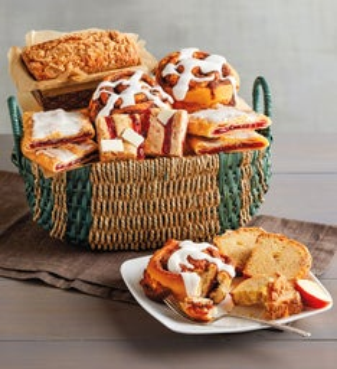 Sweet Pastry Sampler Basket