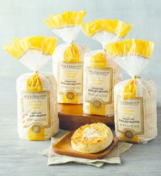 Wolfermans Cheddar Cheese SuperThick English Muffins