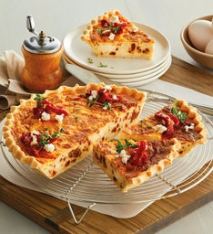 SunDried Tomato and Feta Quiche