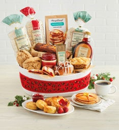 Deluxe Christmas Bakery Basket