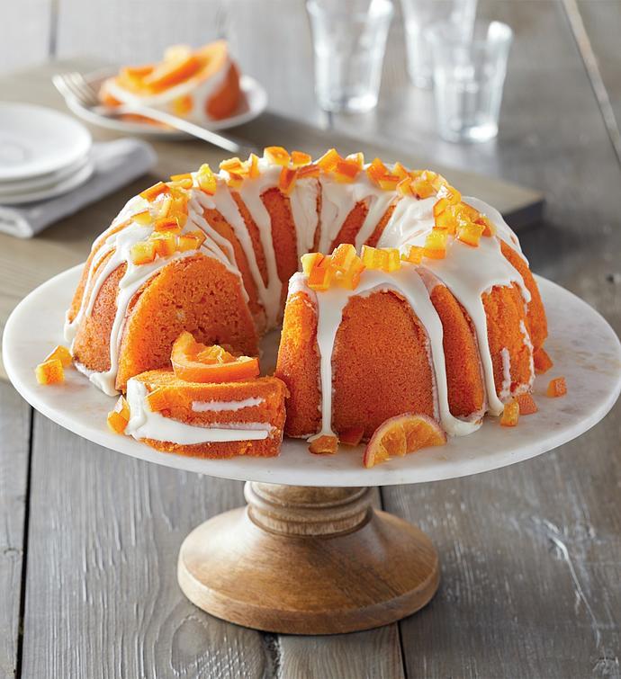 Orange Cream Bundt Cake