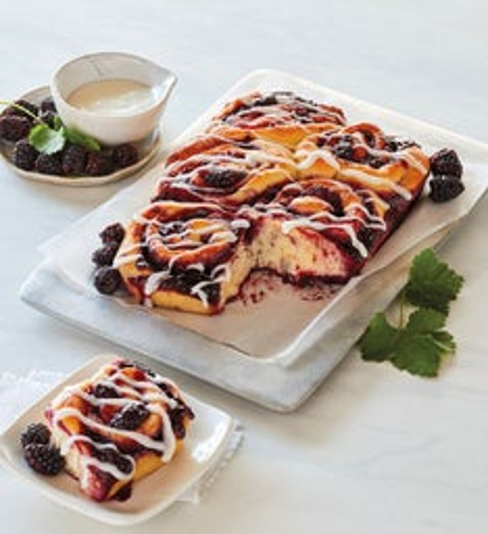Marionberry Sweet Rolls