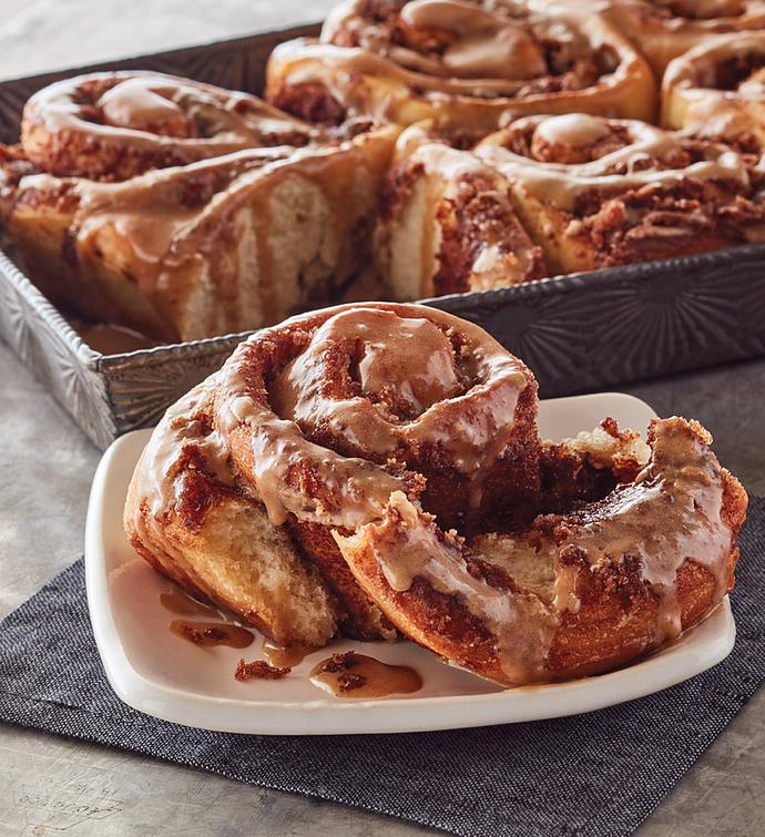MapleGlazed Sweet Rolls