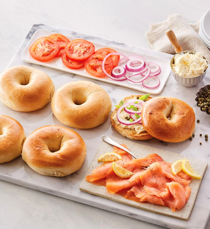 Original Bagels Lox and Cream Cheese