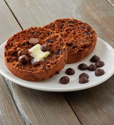 Chocolate Chocolate Chip Super-Thick English Muffins