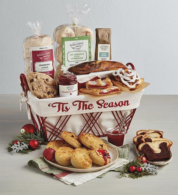 Christmas Bakery Basket