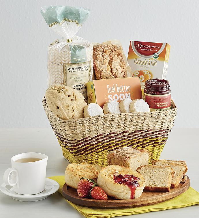 Feel Better Gift Basket